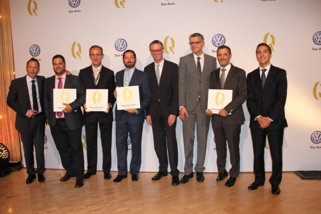 Volkswagen Service Quality Award 2014