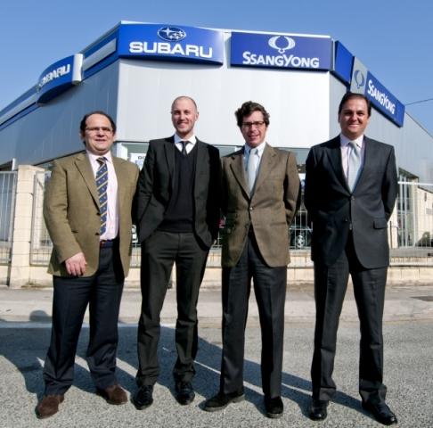 Subaru felicita a Pamplona Motor