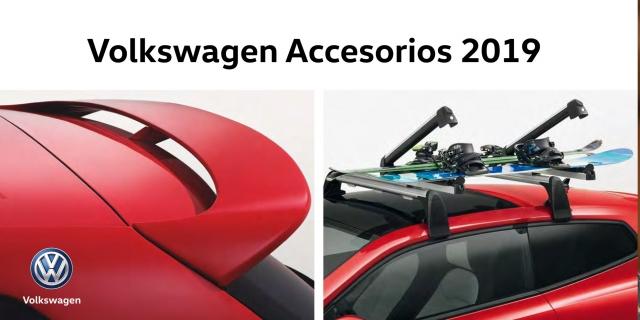 Accesorios Volkswagen 2019