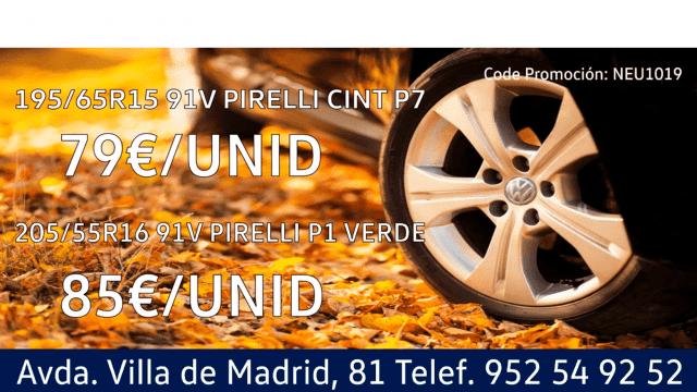 Promo Postventa Octubre 2019 Neumáticos
