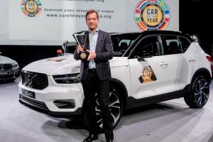 El nuevo Volvo XC40 elegido Coche del año 2018 en Europa