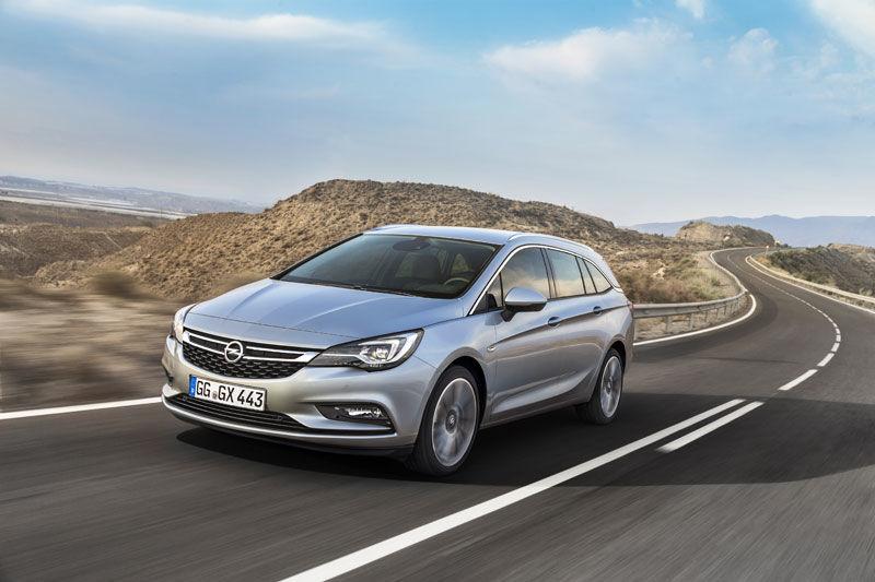 Presentación mundial del nuevo Opel Astra Sports Tourer