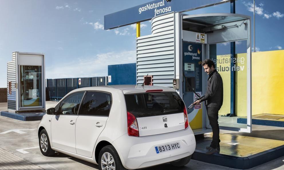 ¿Cuántos coches de gas natural circulan por España?