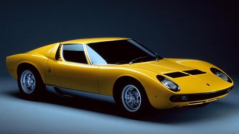 Coches Míticos: Lamborghini Miura