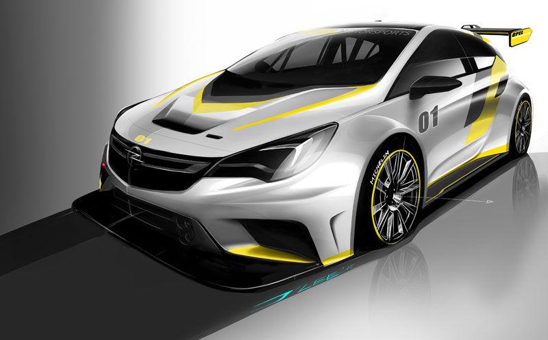 """Presentación del nuevo Opel Astra TCR: un """"carreras cliente"""" para pilotos privados"""