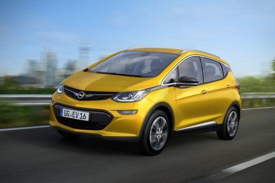 Opel anuncia el revolucionario coche eléctrico de batería Ampera-e