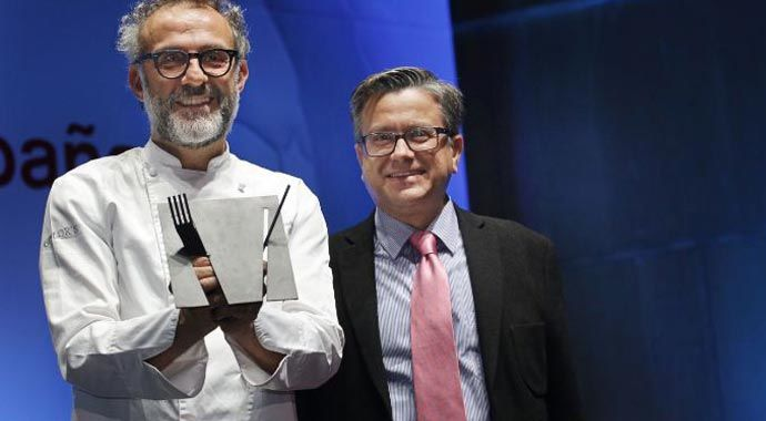 MASERATI, TESTIGO DEL PREMIO OTORGADO A MASSIMO BOTTURA COMO 'COCINERO DEL AÑO EN EUROPA'