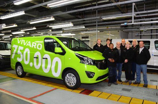 Opel produce la unidad 750.000 del Vivaro