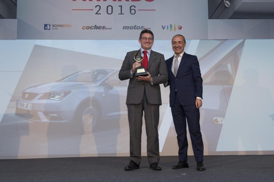 """El SEAT Ibiza, """"Mejor Coche Urbano 2016"""" en España"""