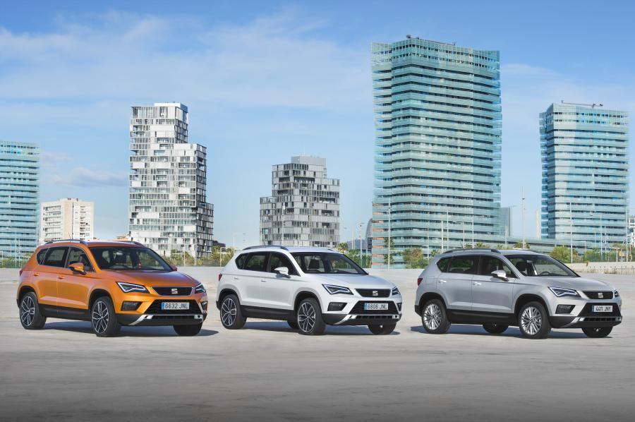 Nuevo SEAT Ateca: un auténtico SUV, compacto y deportivo.