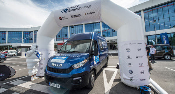 El Iveco Daily se alza con un título en el ALD Ecomotion Tour 2016
