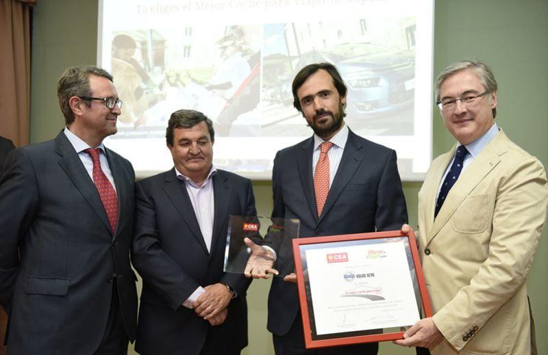 """Volvo XC90: """"El Mejor Coche para Viajar"""" 2016"""