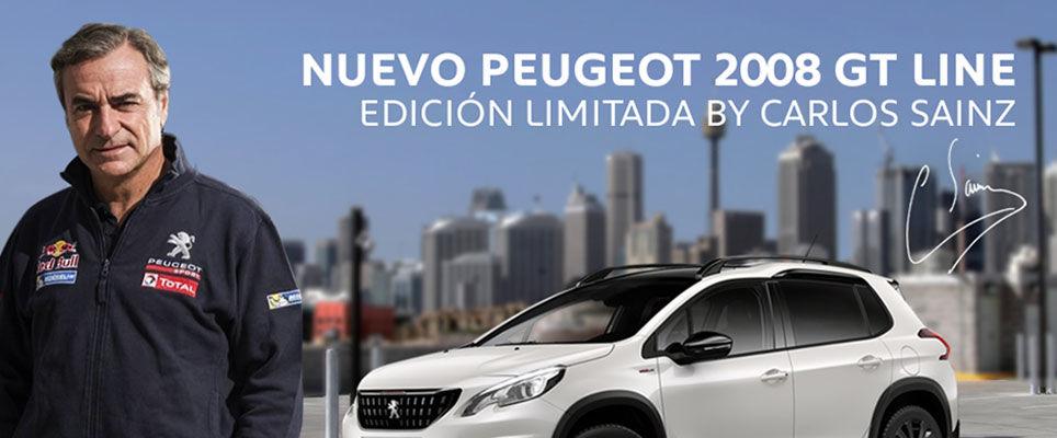 Edición Especial Peugeot 2008 GT Line by Carlos Sainz