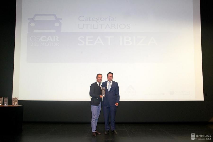 """El Seat Ibiza, premio al """"Utilitario más vendido en España en 2015"""""""