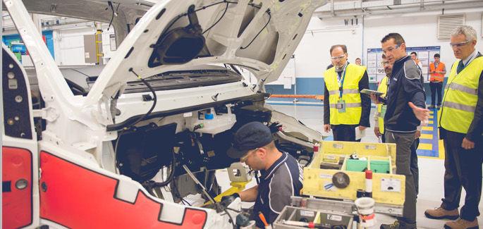 La planta de Iveco en Valladolid se acerca al nivel 'oro' tras la última auditoría WCM