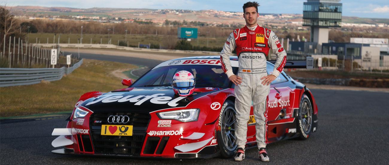 Audi y Miguel Molina presentan el RS 5 DTM para la temporada 2016