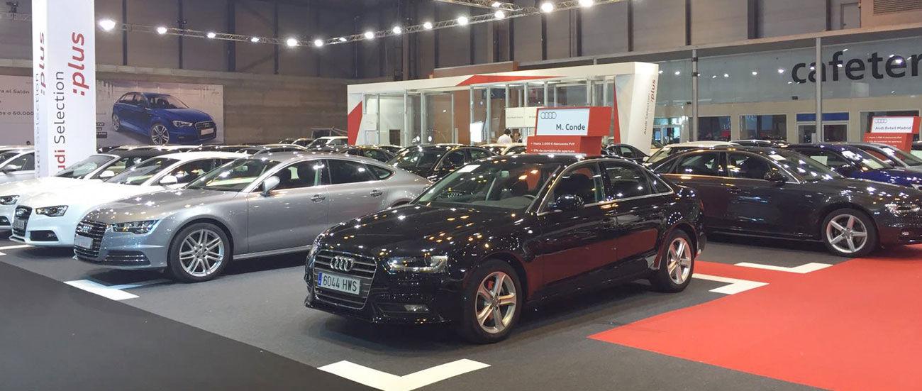 Audi Selection :plus en el Salón del Vehículo de Ocasión de Madrid