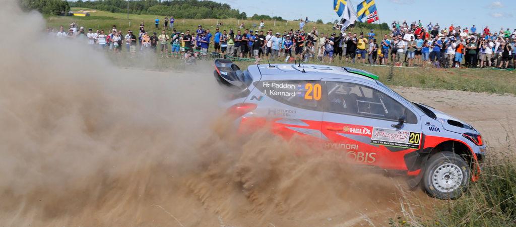 """Hyundai Motorsport busca un podio en el """"fast and furious"""" Rally de Polonia"""