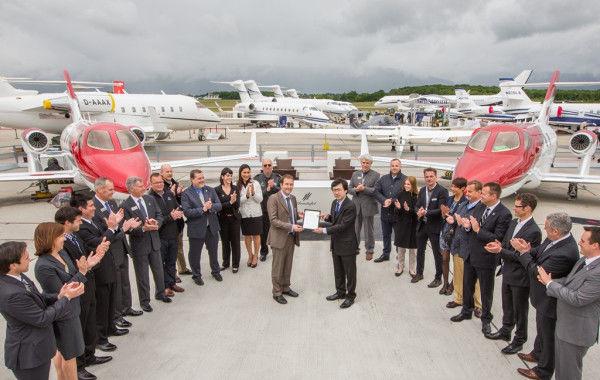 El HondaJet en Europa, certificación de la Agencia Europea de Seguridad Aérea