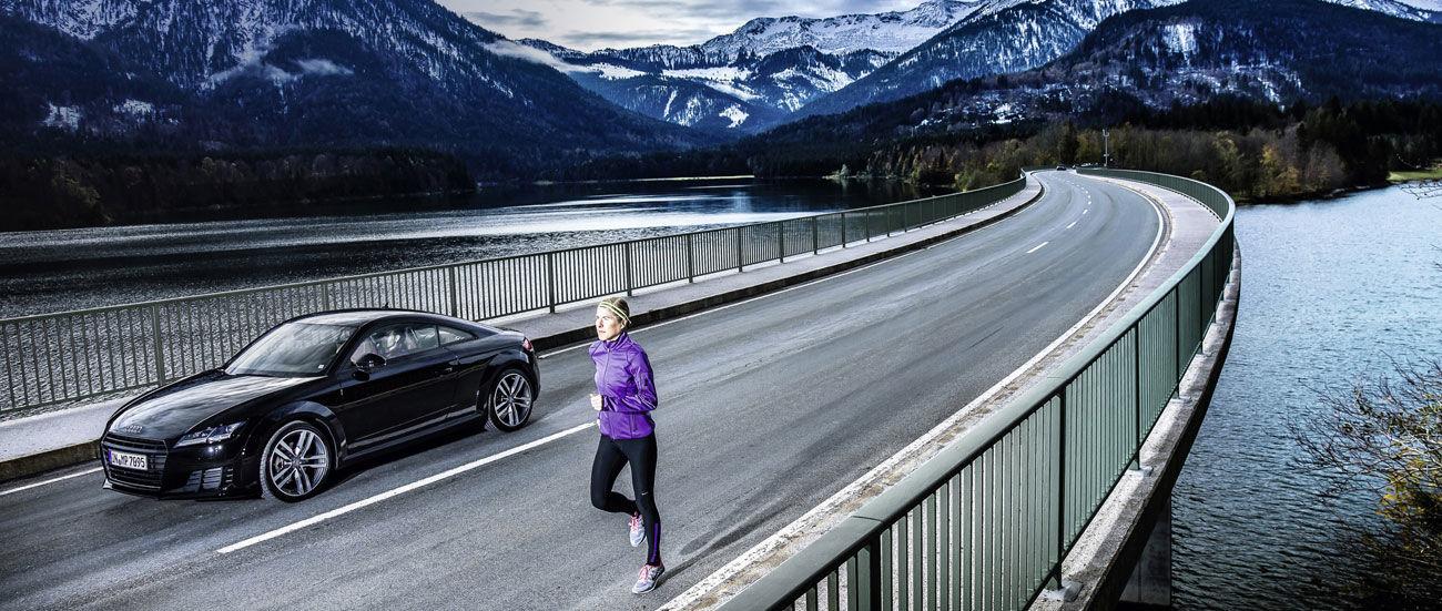 Audi con la industria digital de la salud para poner en forma a conductores y startups