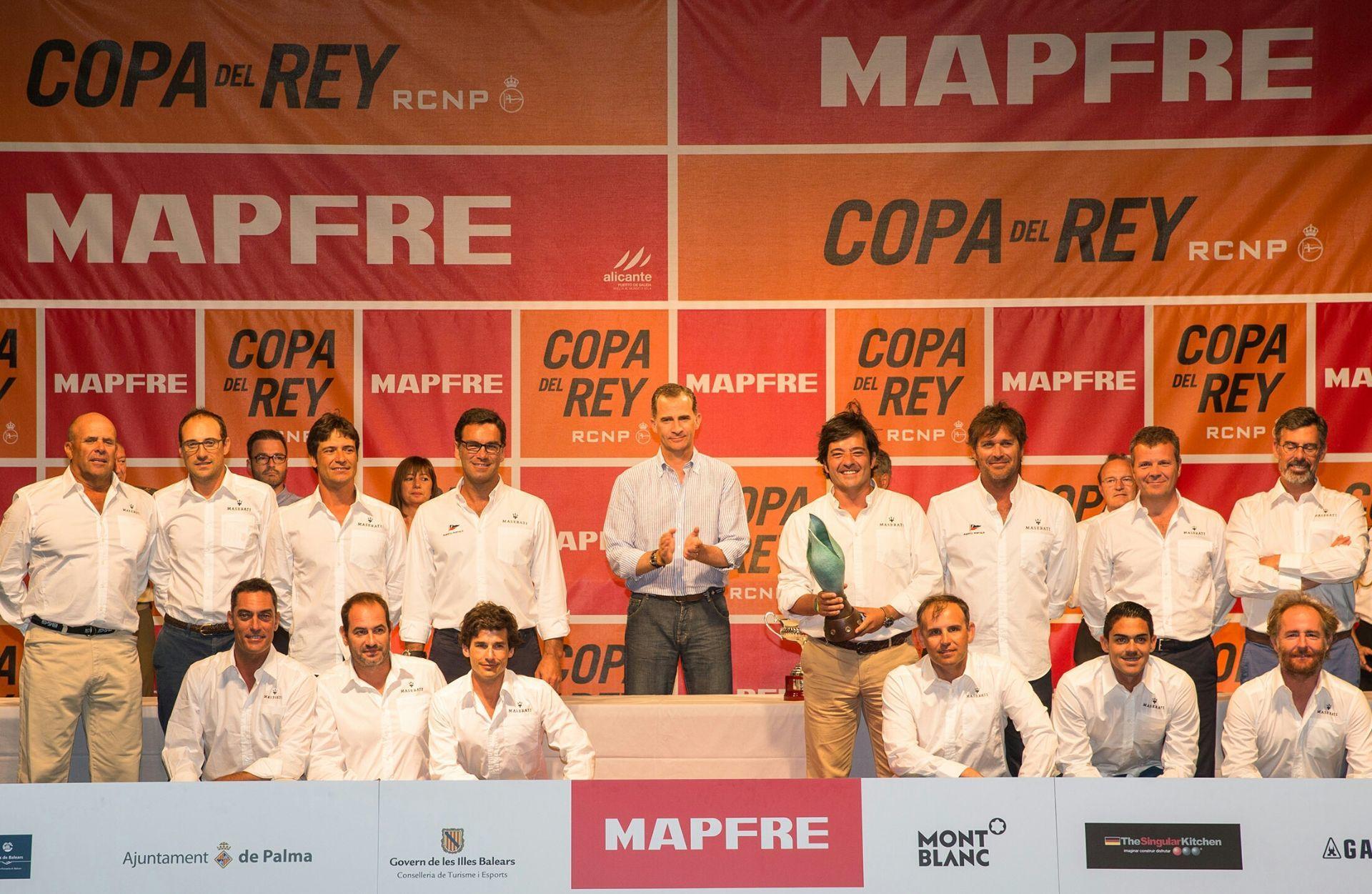 MASERATI GANADOR DE LA CLASE ORC1 DE LA 35º COPA DEL REY MAPFRE