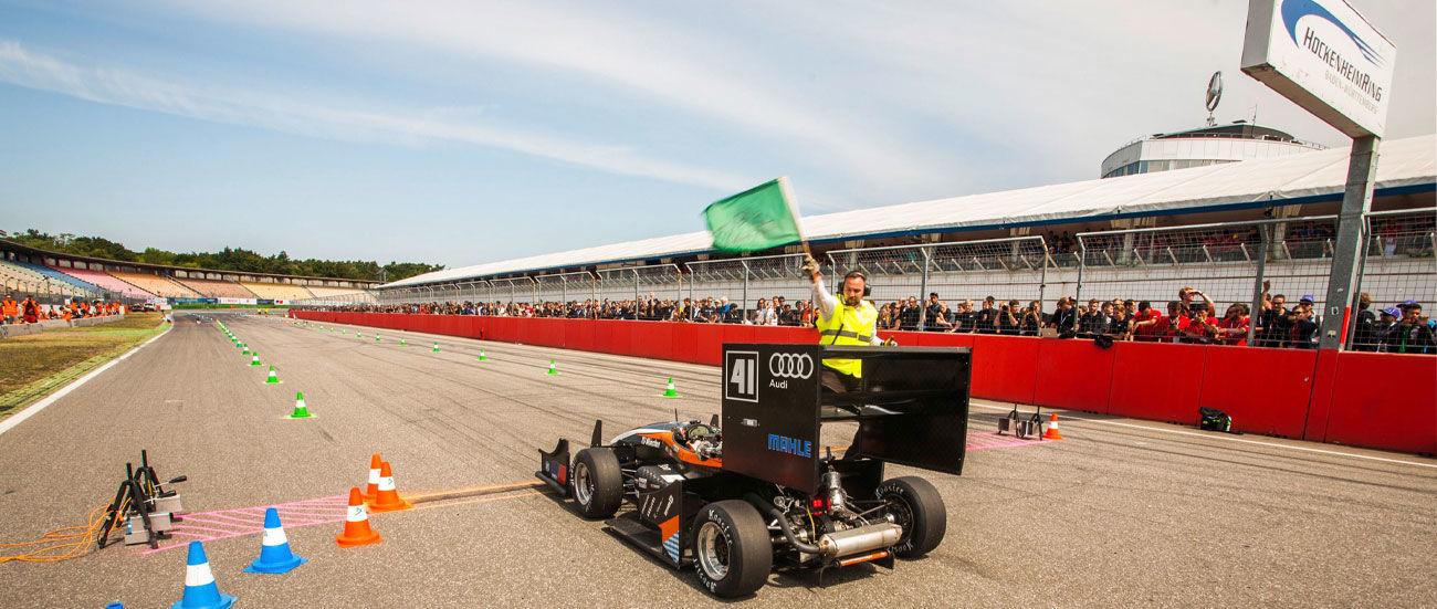 Audi en la Fórmula Student 2016: todo a punto en Hockenheim