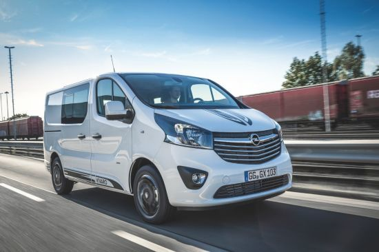 Nuevo Opel Vivaro Sport: el trabajador infatigable con elegancia deportiva