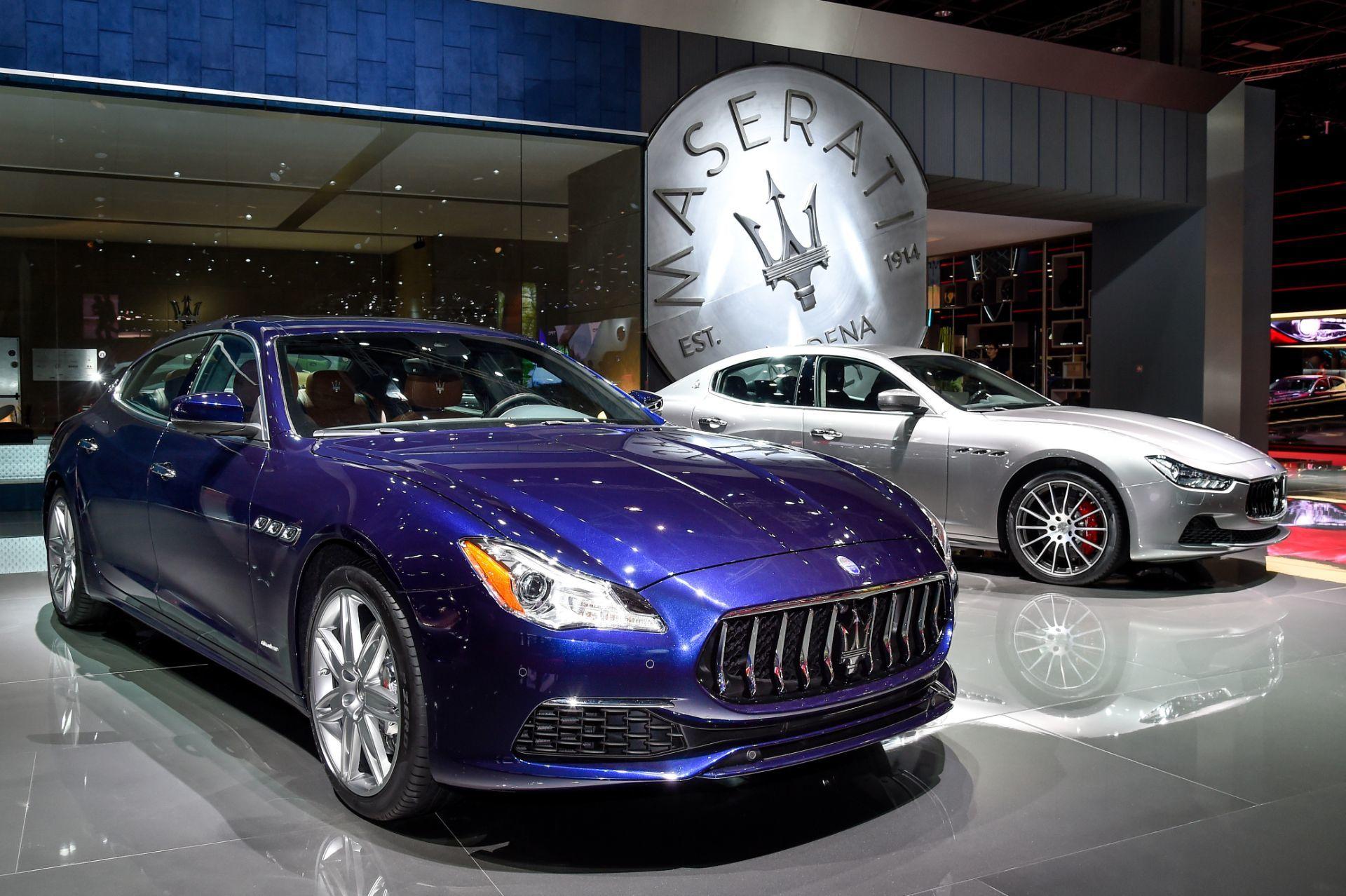 Maserati en el Salón de automóvil de París: debut del nuevo Quattroporte y el Ghibli Model Year 2017