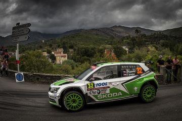 KOPECKÝ CONSIGUE EL 20º PODIO DE SKODA MOTORSPORT EN EL WRC CON EL FABIA R5