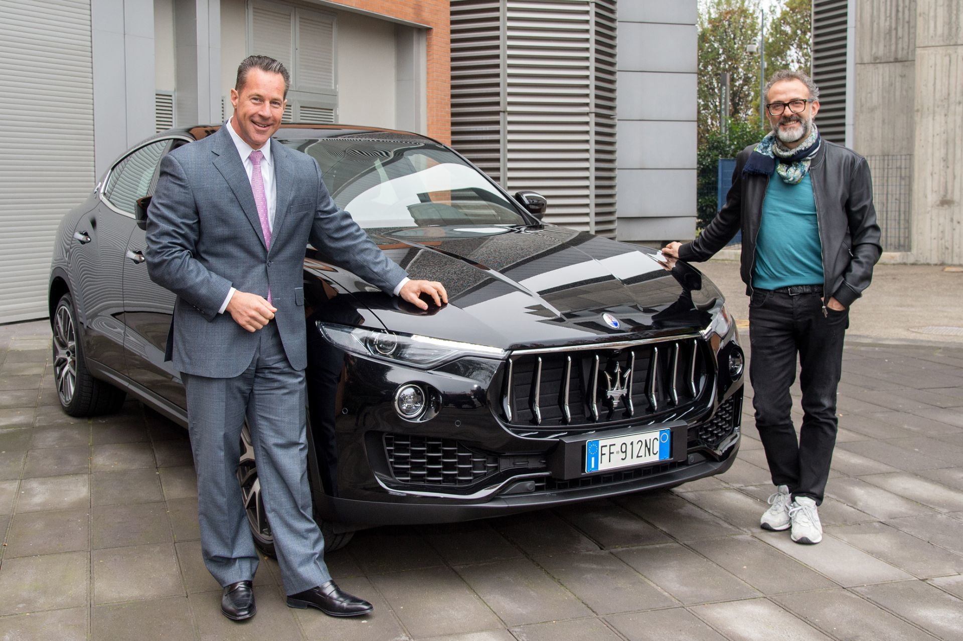 Massimo Bottura renueva su colaboración con Maserati