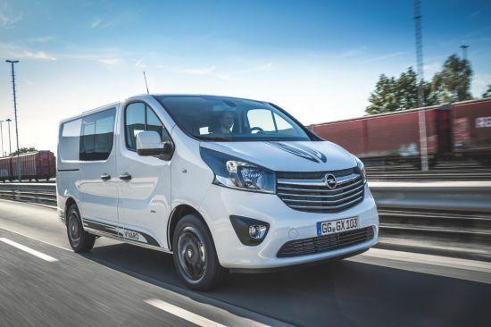 Nuevo Opel Vivaro Sport: el trabajador infatigable con elegancia deportiva.