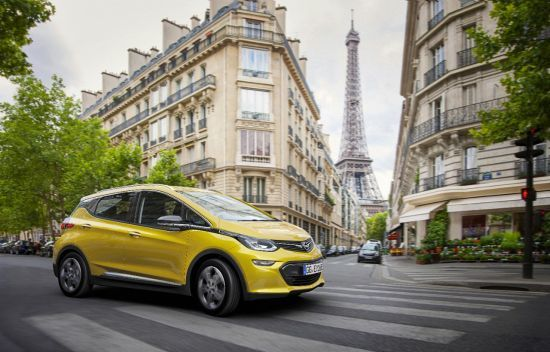 Opel Ampera-e con más de 500 kilómetros de autonomía.