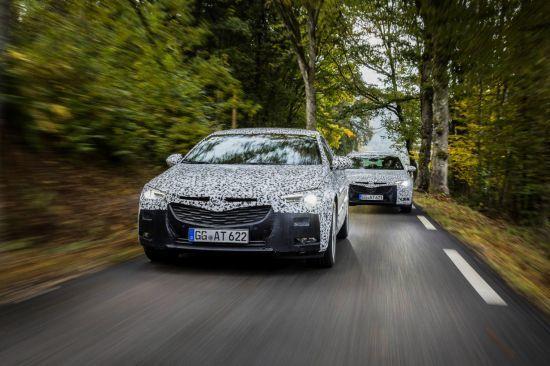 El nuevo Opel Insignia en la fase final de desarrollo.