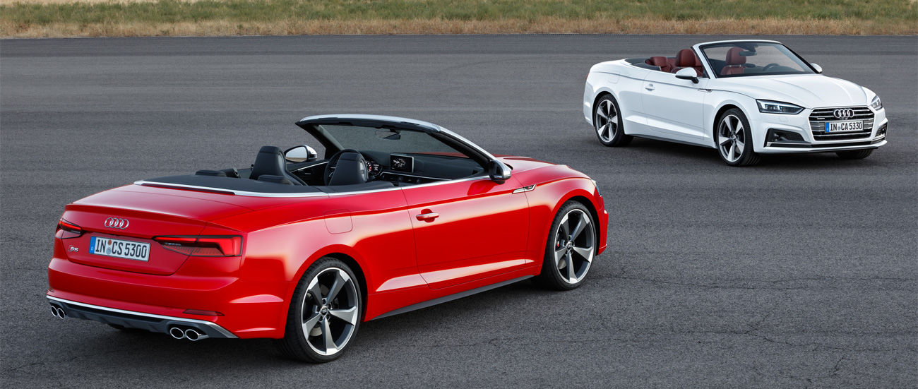 Nuevos Audi A5 y S5 Cabrio: abiertos a un intenso placer de conducción