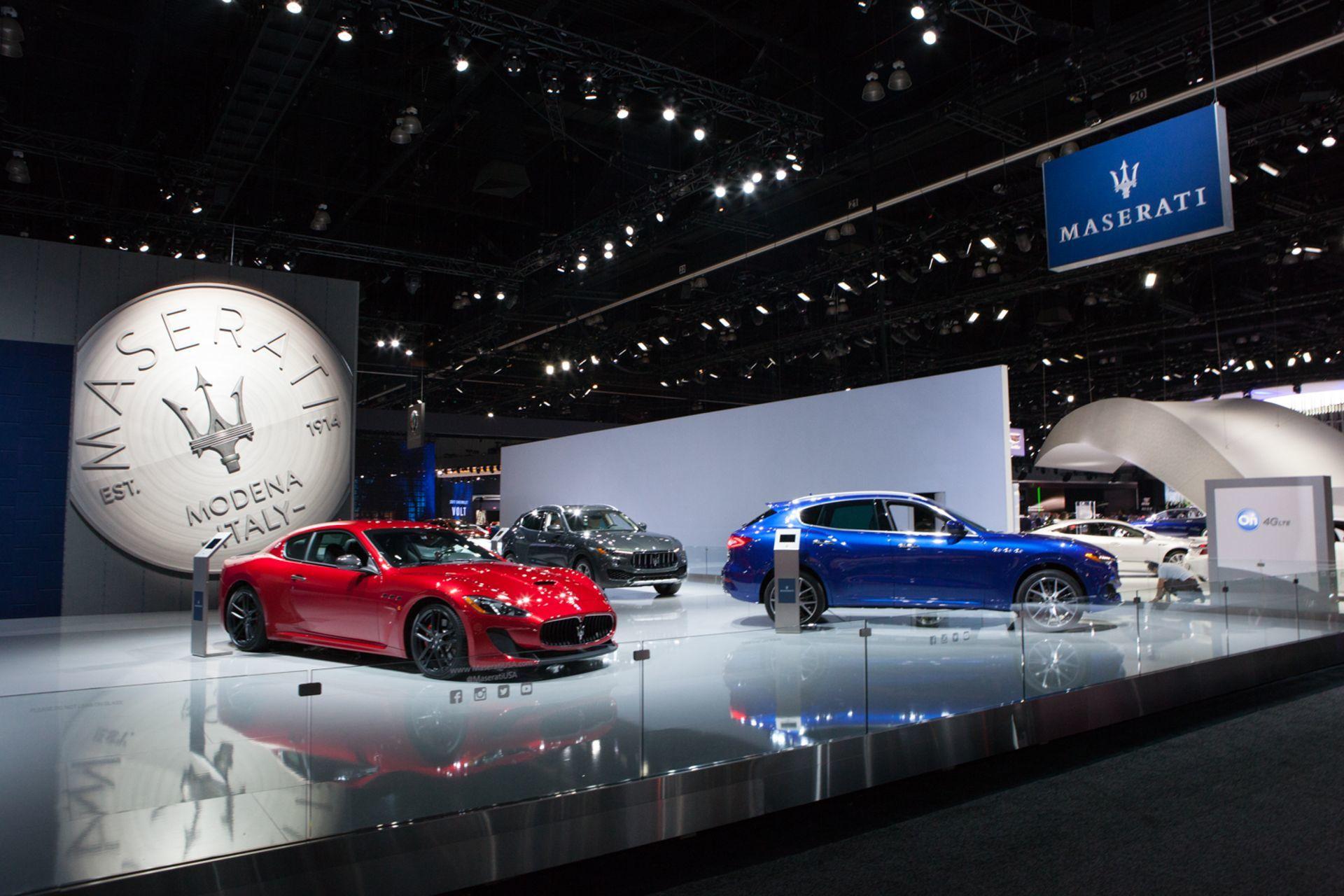 Maserati presente en el Salón del Automóvil de Los Angeles
