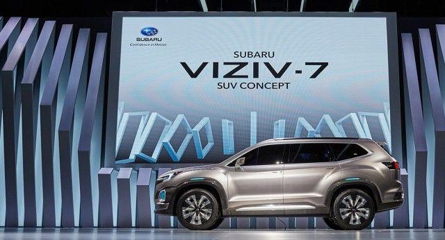 Subaru sorprende con su nuevo concept VIZIV-7 en el Salón de Los Ángeles