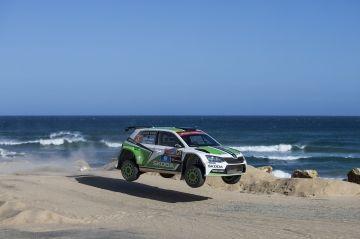 Día histórico para ŠKODA en el WRC 2: Lappi y Ferm se proclaman campeones del mundo