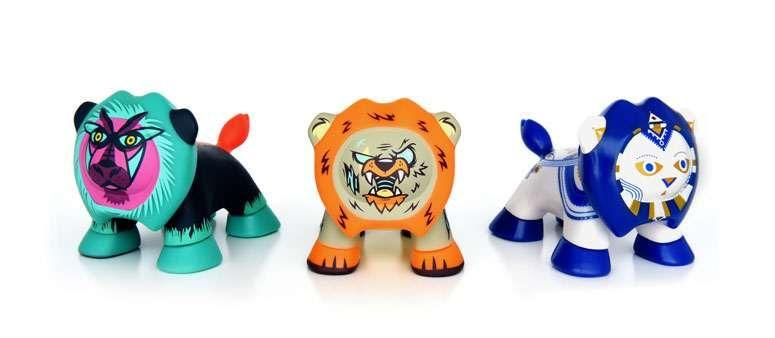 PEUGEOT lanza la serie 3 de los Art Toys LEO'Z
