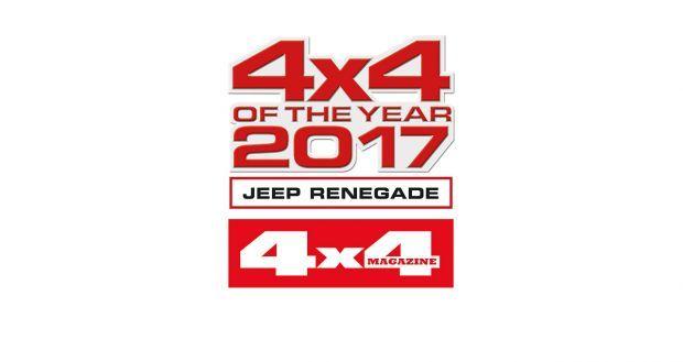 Jeep triunfa en los premios 2017 de la revista 4x4 Magazine
