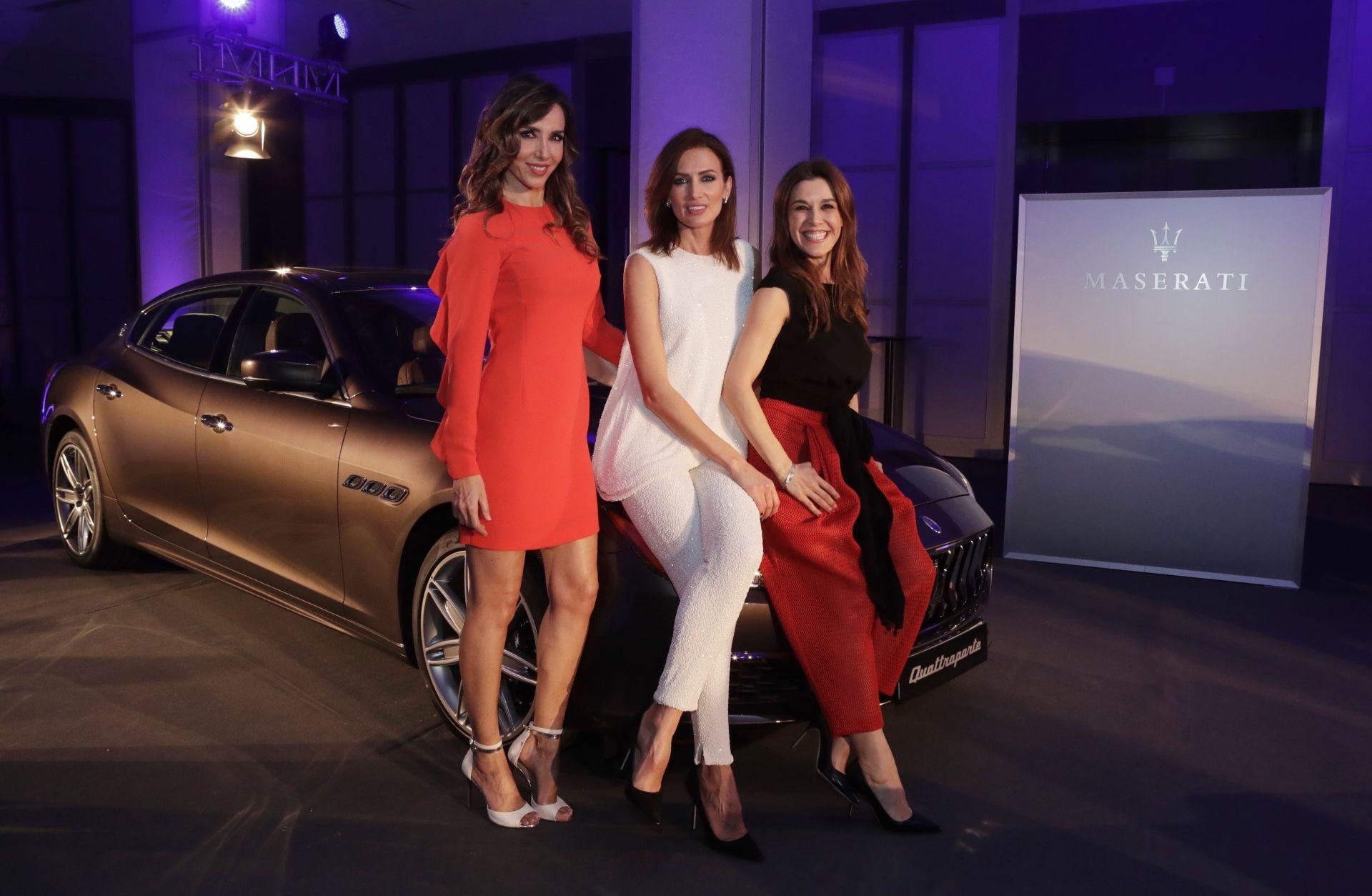 El nuevo Maserati Quattroporte luce sus mejores galas en su presentación ante la sociedad Madrileña
