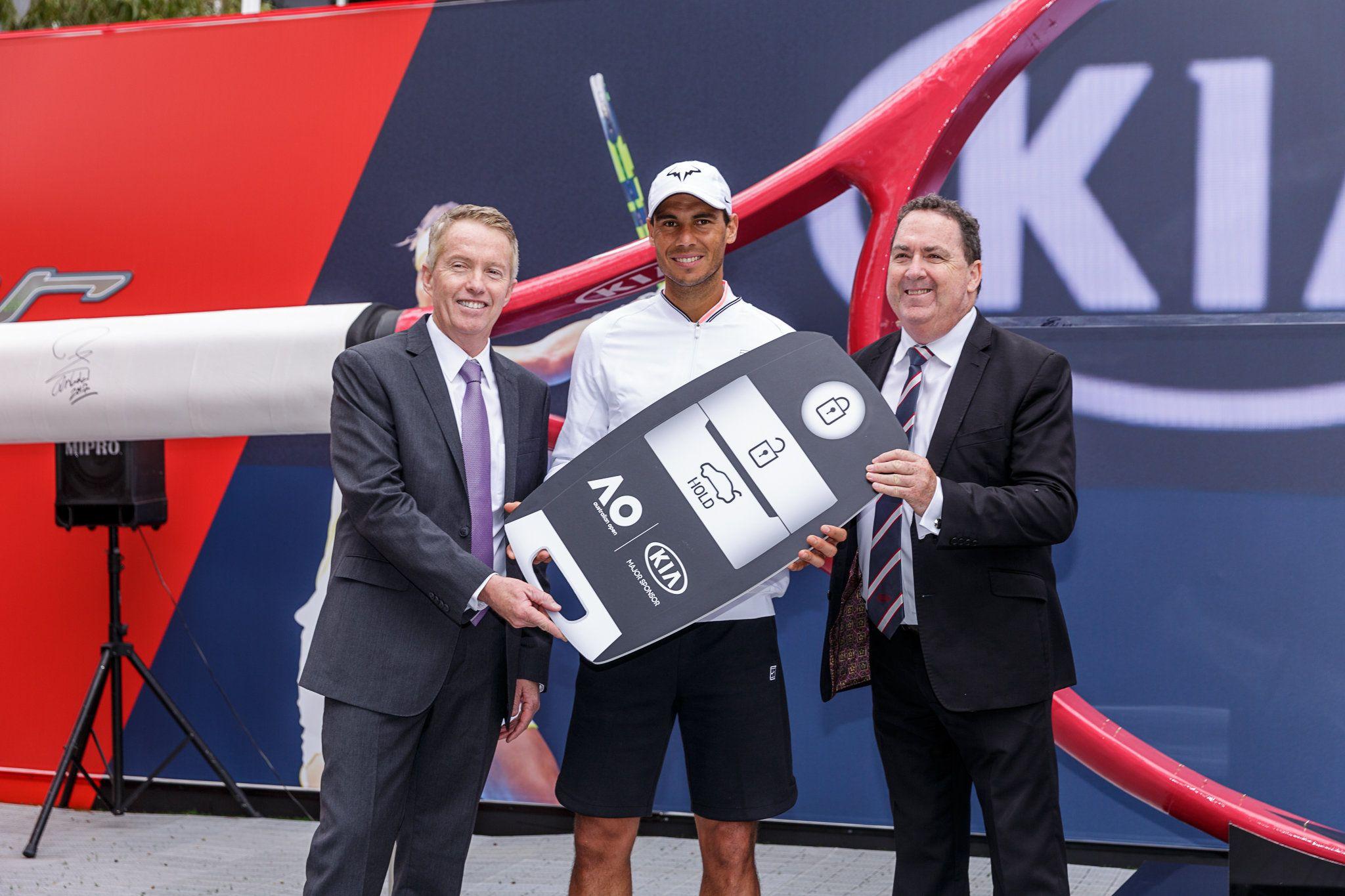 Kia Motors y Rafael Nadal de vuelta en el Open de Australia 2017