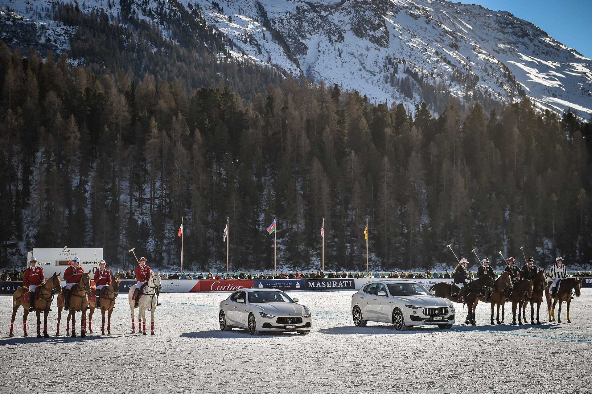 "La ""Snow Polo World Cup"" en ST. Moritz, punto de partida con glamour del Maserati Polo Tour 2017 en colaboración con La Martina"