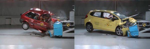 Honda Jazz, modelo de máxima seguridad en el 20 aniversario de Euro NCAP
