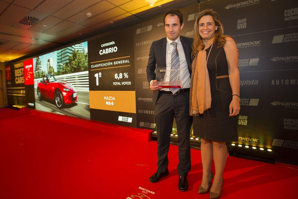 EL MAZDA MX-5, ELEGIDO MEJOR CABRIO DE LOS PREMIOS BEST CARS 2017