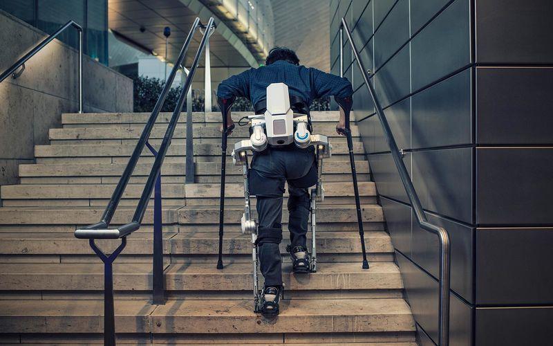 Hyundai muestra Robots wearables en el Salón del Automóvil de Ginebra