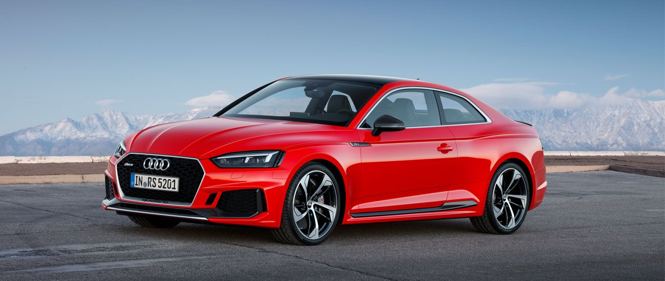 El nuevo Audi RS 5 Coupé