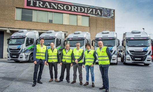 La empresa de transportes Transordizia sigue apostando por el gas natural con el Nuevo IVECO Stralis NP
