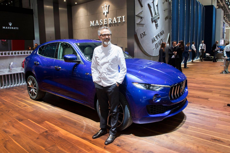 Maserati y Massimo Bottura exponen la excelencia italiana en el Salón de Ginebra