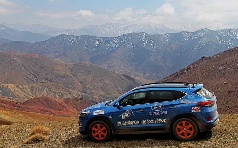 Hyundai Motor de nuevo solidario con el Desierto de los niños