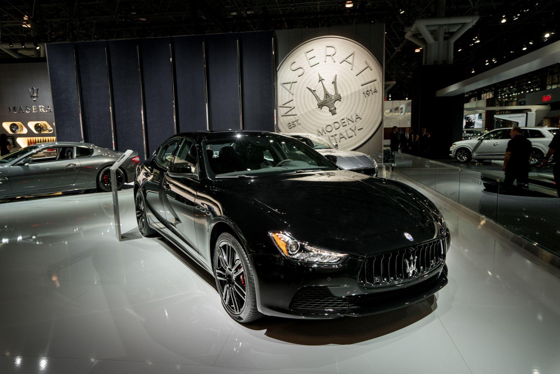 """Maserati revela la edición especial Ghibli """"Nerissimo"""" en el Salón Internacional del Automóvil de Nueva York"""